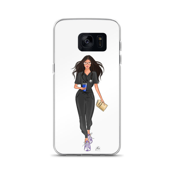 Flexible Samsung Phone Case with illustration - Miranda