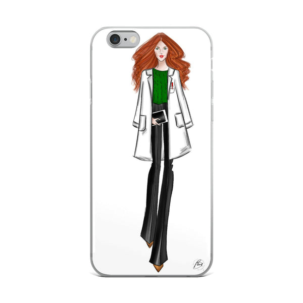 Illustrated Flexible iPhone Case - Autumn