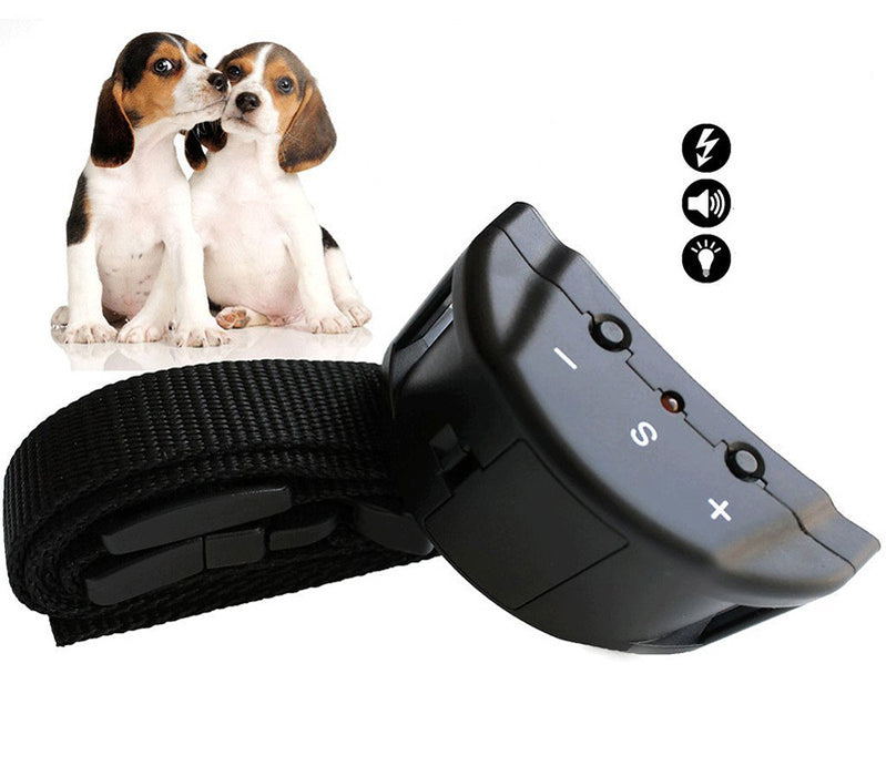 Automatic Dog Training Anti Bark Collar For Small Medium Large Dogs Adjustable Sensitivity - Dux Ducis