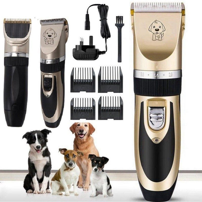 Rechargeable Cat Dog Hair Trimmer Electrical Pet Clipper Cutter Grooming Machine - Dux Ducis