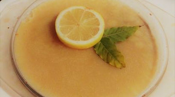 Zesty Clean Tarte au Citron by guest blogger Pollyana Hale, from The Fit Mum Formula