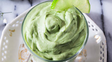 Raw Avocado Lime Mousse