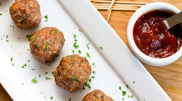 HIGH PROTEIN TURKEY MEATBALLS