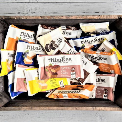 Pick & Mix box 18 - low sugar high protein Fitbakes®