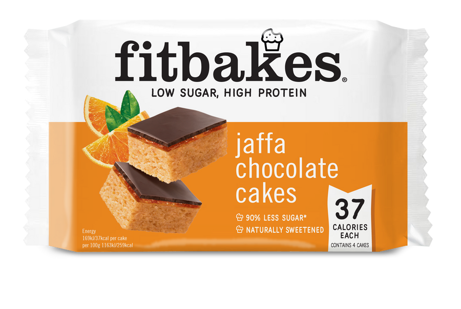 JAFFA CHOCOLATE CAKES - low sugar high protein Fitbakes®