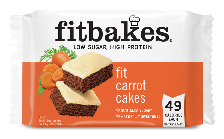 FIT CARROT CAKES