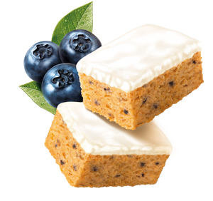 BLUEBERRY CAKES - low sugar high protein Fitbakes®