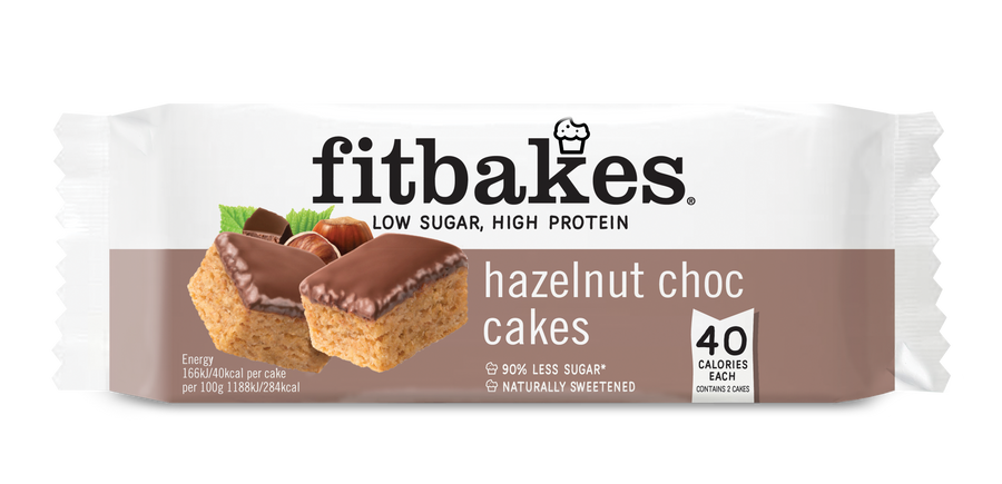 HAZELNUT TWIN PACK X10 - low sugar high protein Fitbakes®