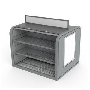 "48"" Double-Sided Security Merchandiser"