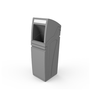 Modular Recycling Bin with Hood