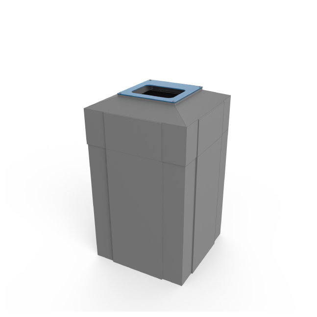 Square Recycle Bin