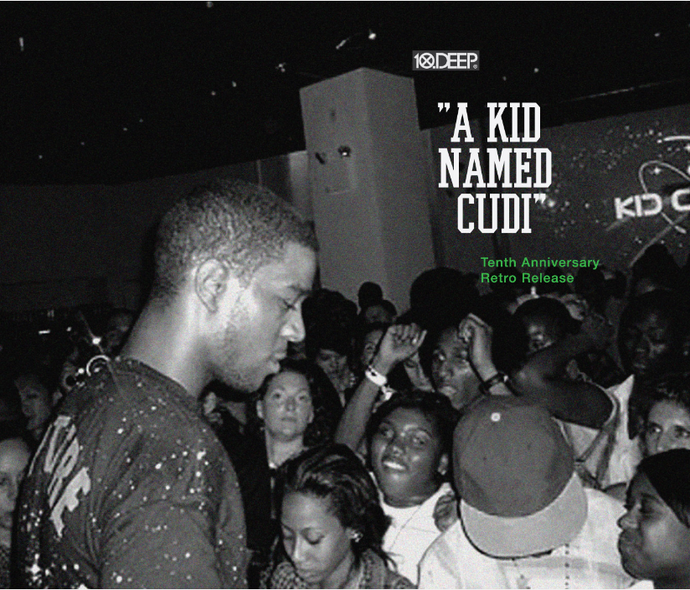 """A KID NAMED CUDI"" 10TH ANNIVERSARY TEE RELEASE"