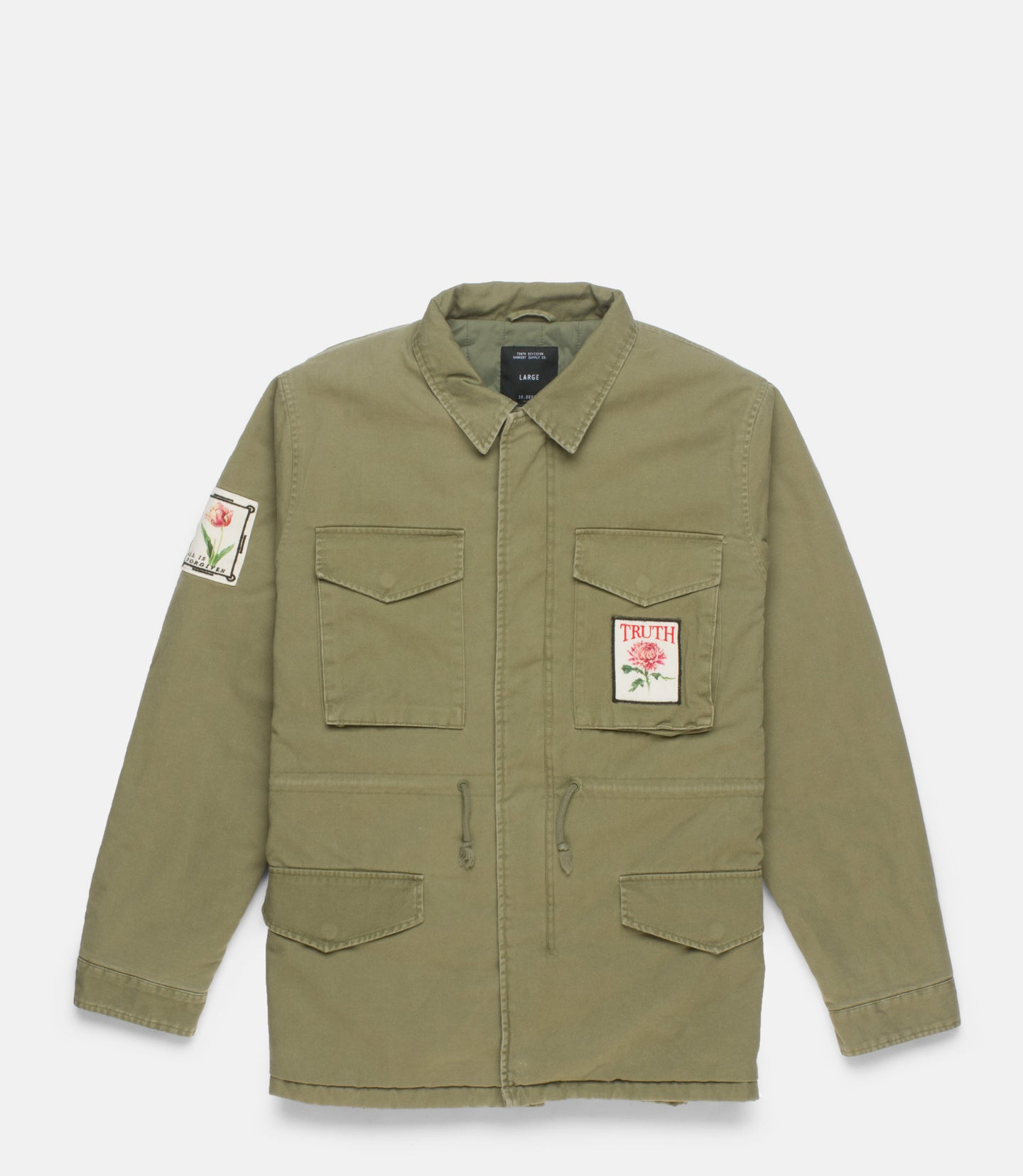 THINKING OF YOU M-65 JACKET - ARMY
