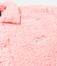 Load image into Gallery viewer, POODLE FLEECE™ COACH'S JACKET - PINK