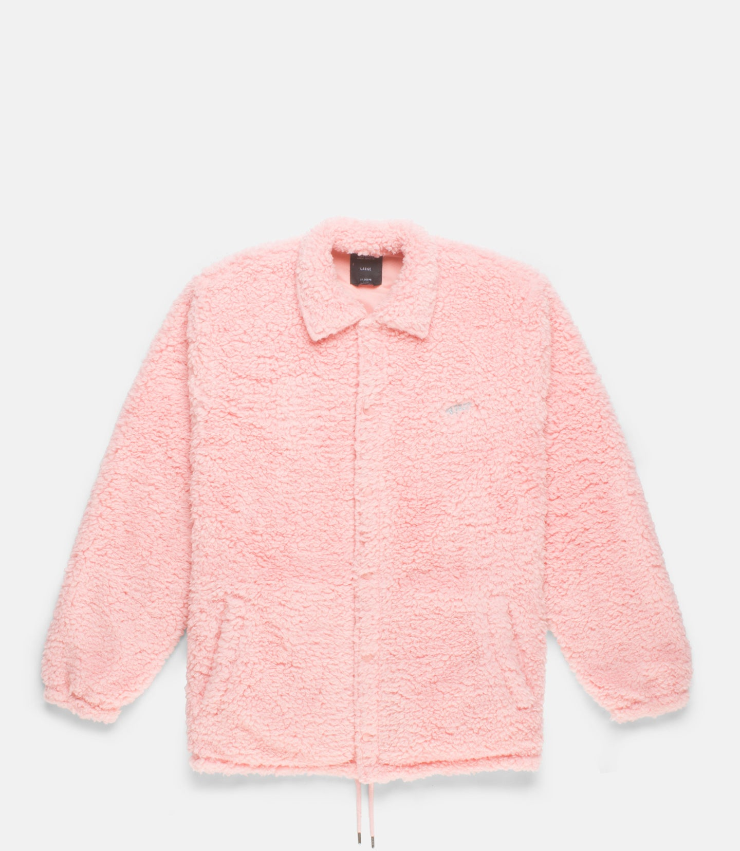 POODLE FLEECE™ COACH'S JACKET - PINK