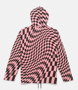 DISTORTION HOODED SHIRT