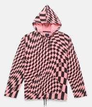 Load image into Gallery viewer, DISTORTION HOODED SHIRT