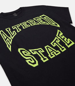 ALTERED STATE TEE - BLACK