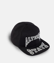 Load image into Gallery viewer, ALTERED STATE SNAPBACK - BLACK