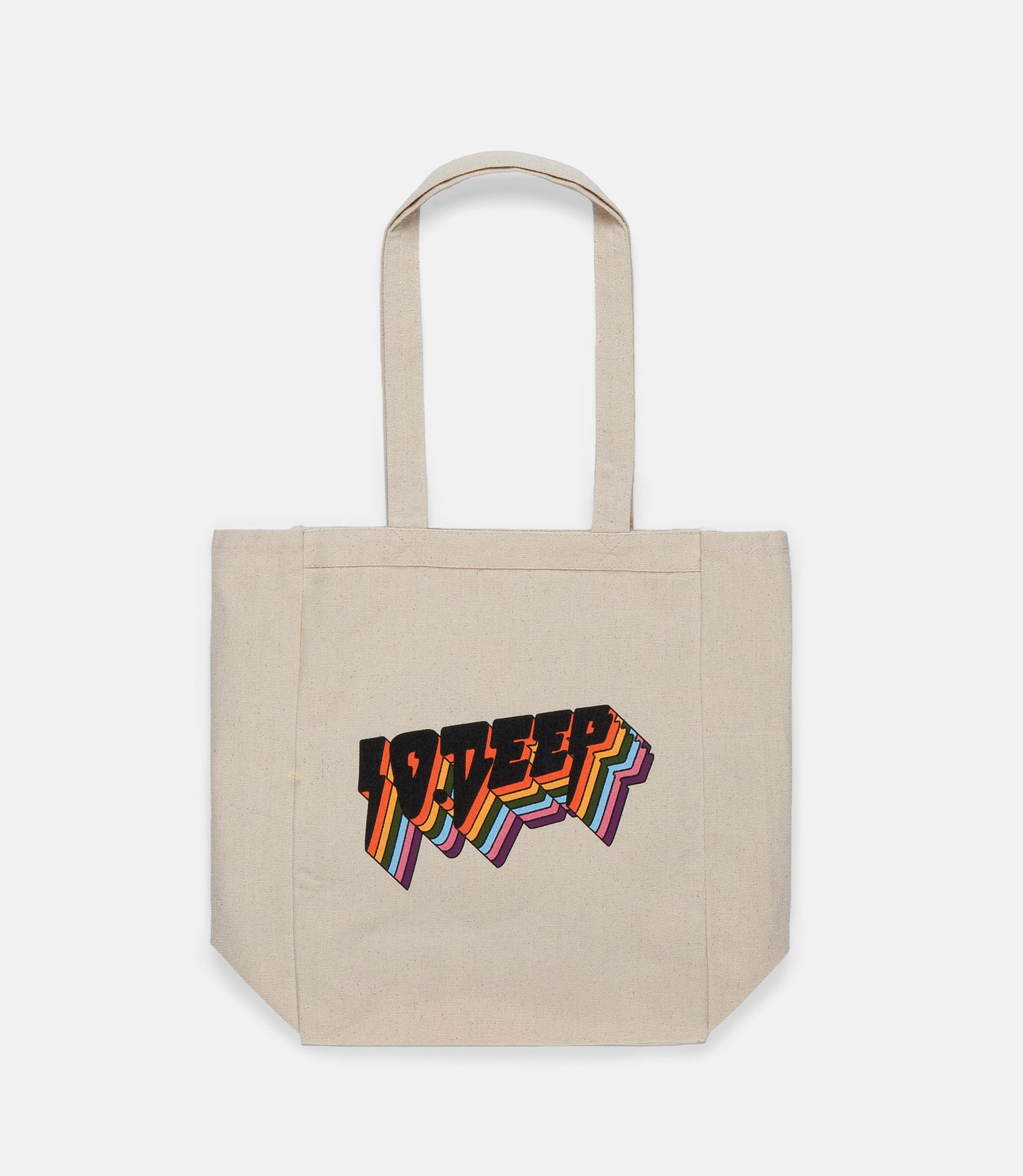 ALL THE LIGHTS TOTE - WHITE