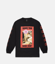 Load image into Gallery viewer, WANTED L/S TEE - BLACK