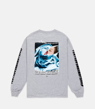 Load image into Gallery viewer, LA MADONNA L/S TEE - HEATHER GREY