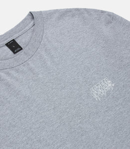 LA MADONNA L/S TEE - HEATHER GREY