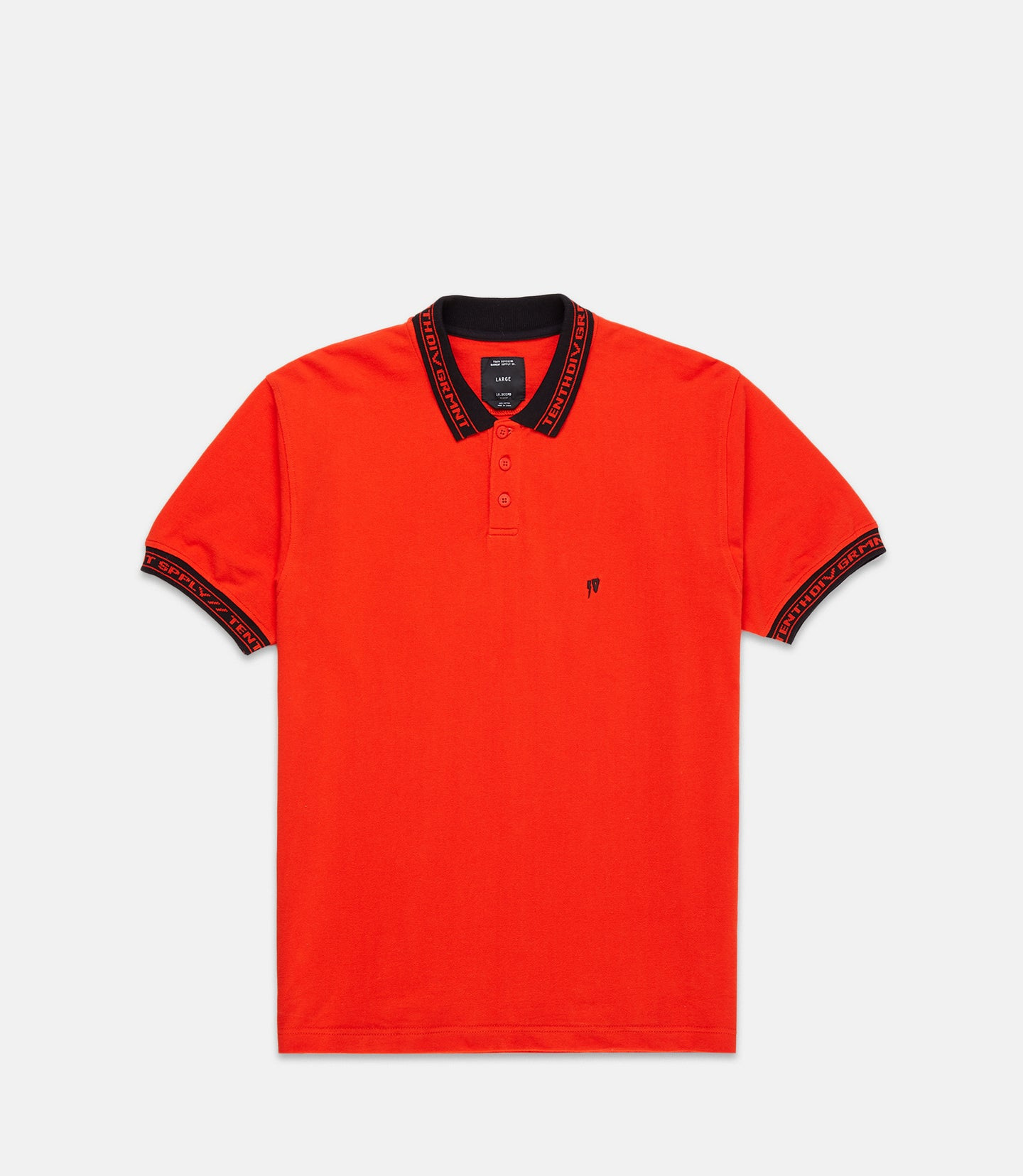 SHARPS POLO - RED
