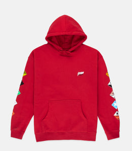 PROHIBITED HOODIE - RED