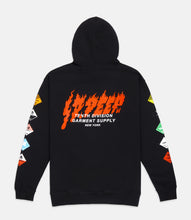 Load image into Gallery viewer, PROHIBITED HOODIE - BLACK