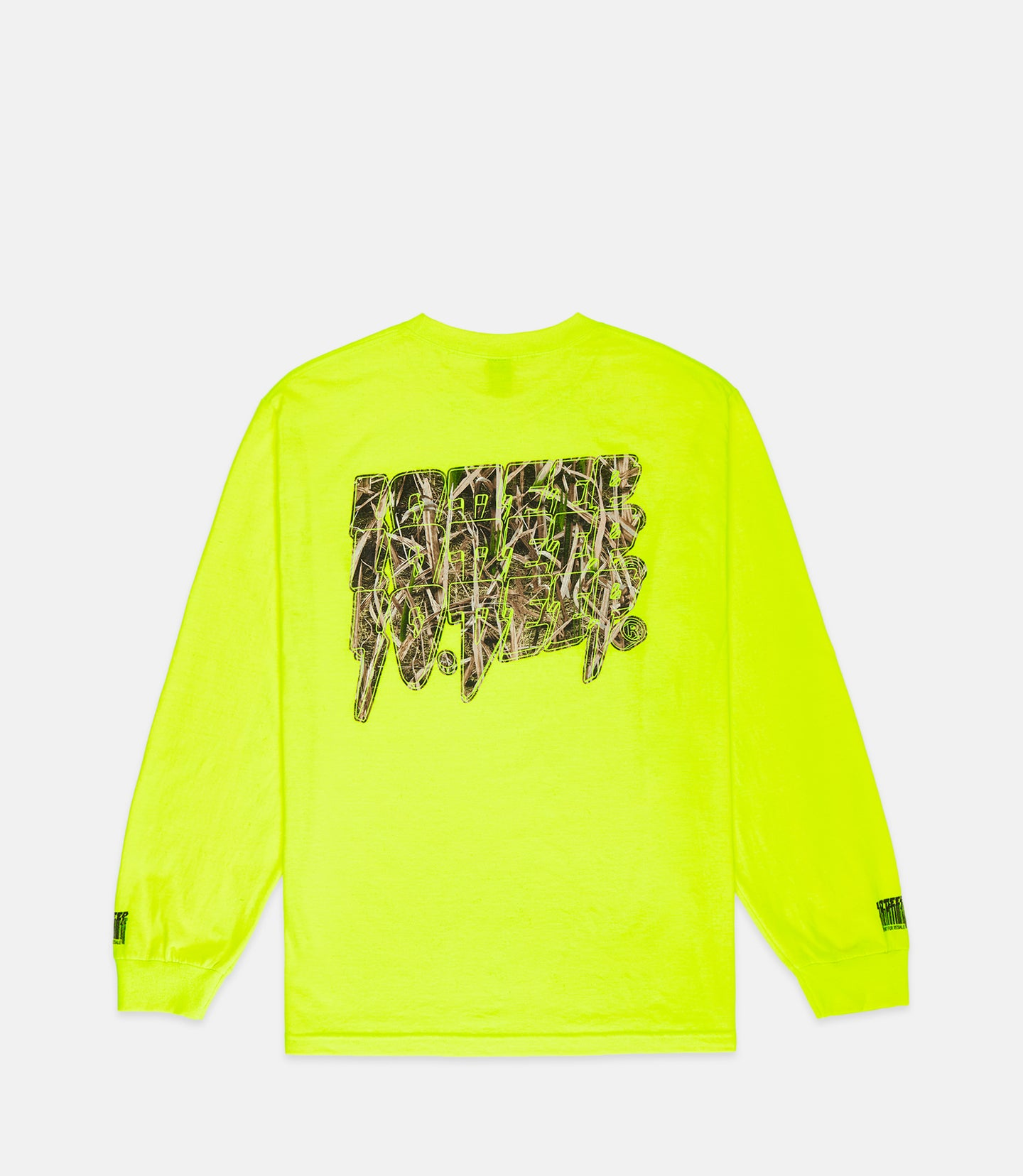 DIGITAL DIV L/S TEE - DAY GLO