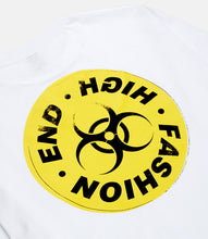 Load image into Gallery viewer, HIGH END TOXICITY L/S TEE - WHITE