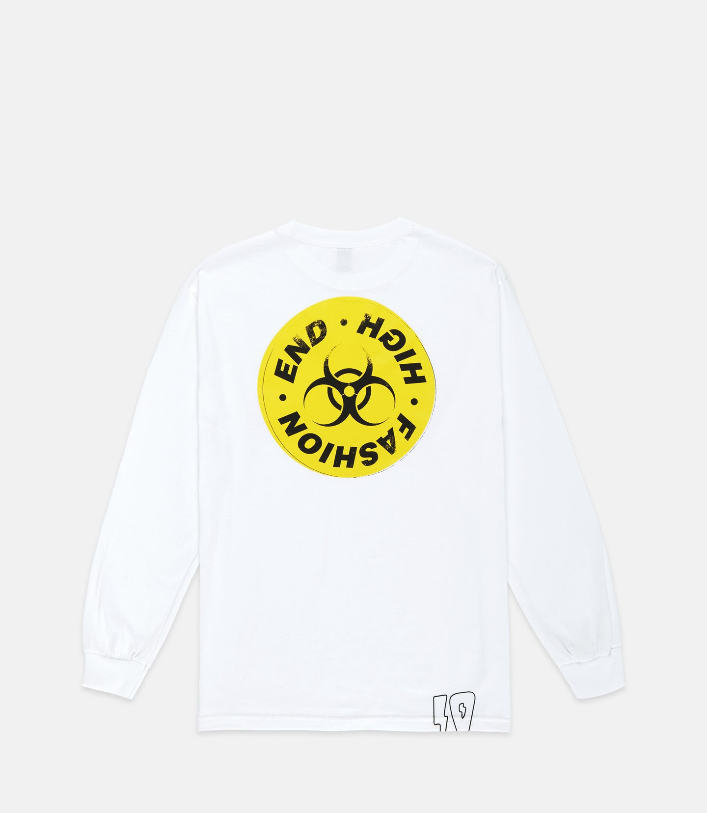 HIGH END TOXICITY L/S TEE - WHITE