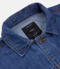 Load image into Gallery viewer, KEEP BACK DENIM JACKET - MED STONE WASH
