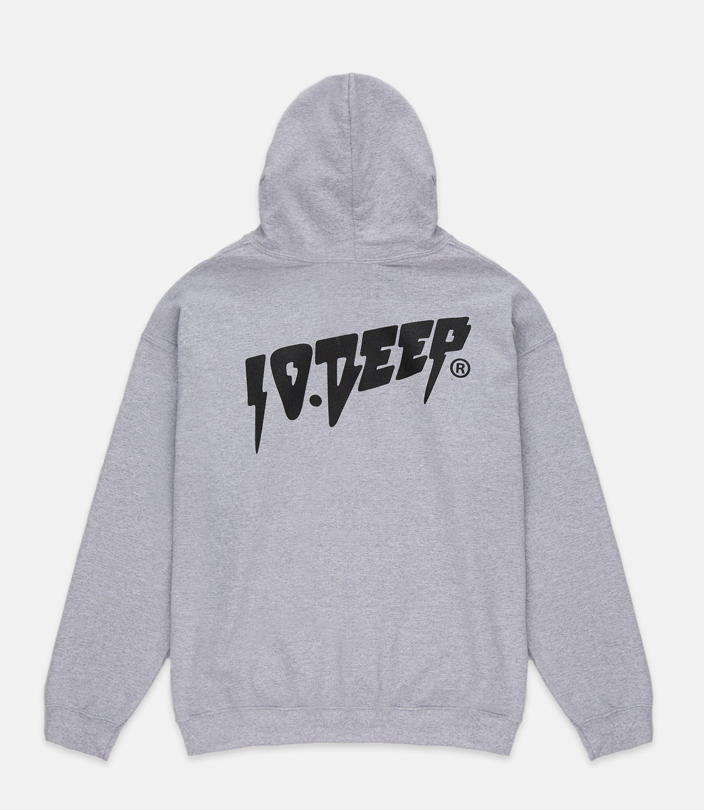 SOUND & FURY HOODIE - HEATHER GREY