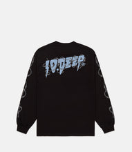 Load image into Gallery viewer, BARBED WIRE L/S TEE - BLACK