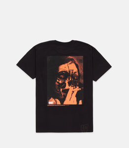 HEARTLESS S/S TEE - BLACK