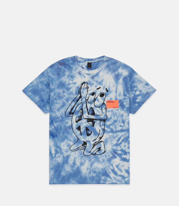 PRAYER S/S TEE - BLUE