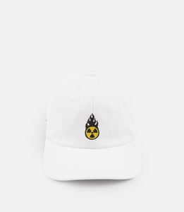RADIATED STRAPBACK - WHITE