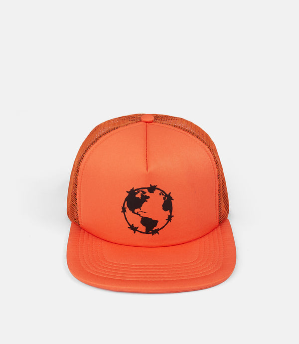 WORLD PEACE TRUCKER - ORANGE