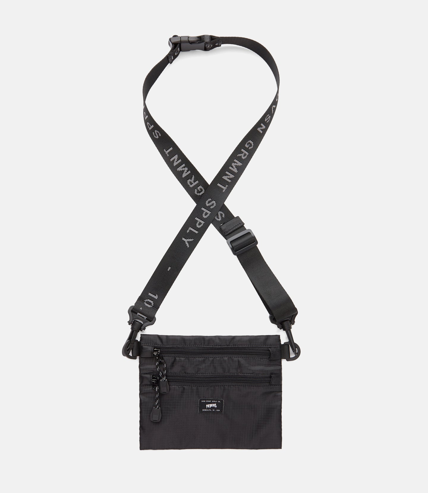 DIVISION SIDE BAG - BLACK