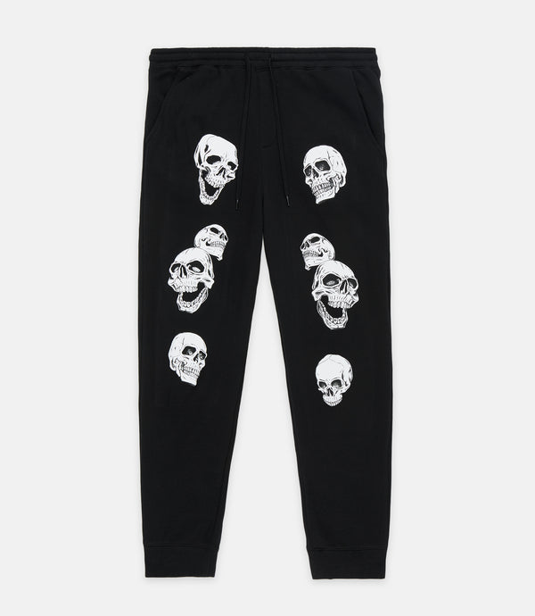 BIOHAZARD SWEATPANT - BLACK