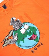 Load image into Gallery viewer, LET'S GO TO HELL TOGETHER TEE - ORANGE