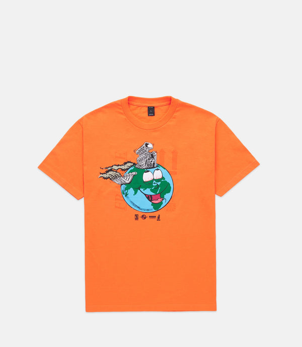 LET'S GO TO HELL TOGETHER TEE - ORANGE