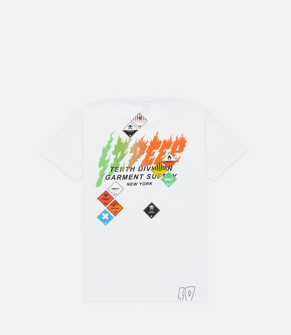 INHERENT RISK TEE - WHITE