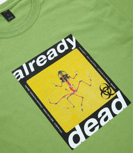 Load image into Gallery viewer, ALREADY DEAD TEE - GREEN