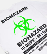 Load image into Gallery viewer, BIOHAZARD S/S TEE - WHITE