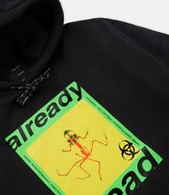 Load image into Gallery viewer, ALREADY DEAD HOODIE - BLACK
