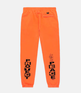 PROTECT SWEATPANTS - ORANGE