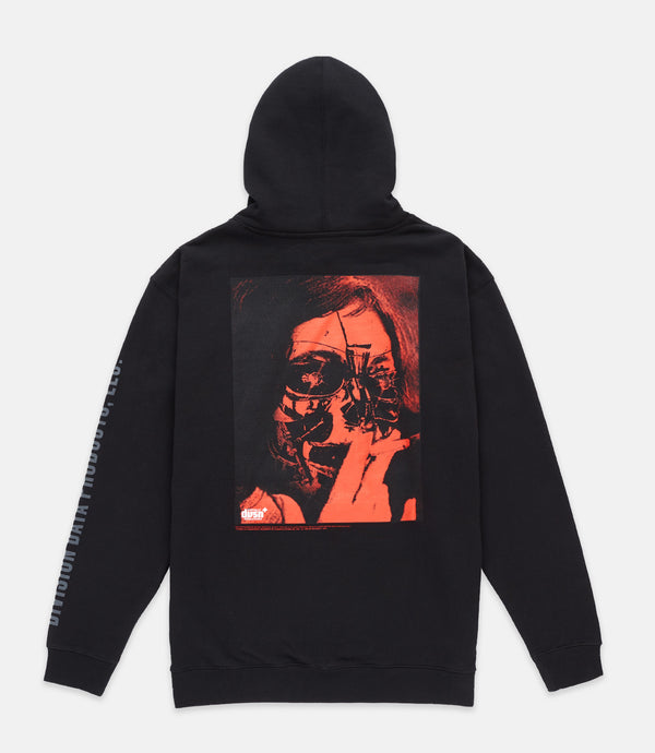 HEARTLESS HOODIE - BLACK